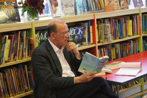 William Sieghart at St John's Wood Library, June 2013