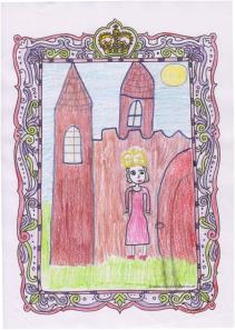 Winning picture by Halah, aged 9