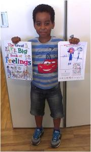Jamal - winner of The Great Big Book of Feelings competition
