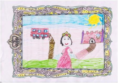 Winning picture by Maryam, aged 8