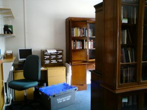 The Sherlock Holmes Collection settles in to Westminster Reference Library, July 2013