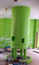 Rocket? Marylebone children's library in progress, July 2013