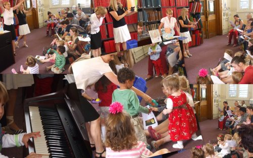 Westminster Music Library's 'Creepy House' event, August 2013