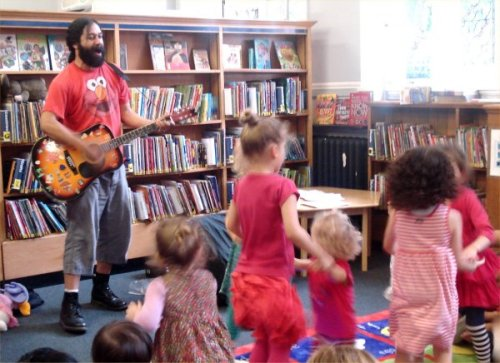 Mike Belgrave at Mayfair Library, Summer 2013