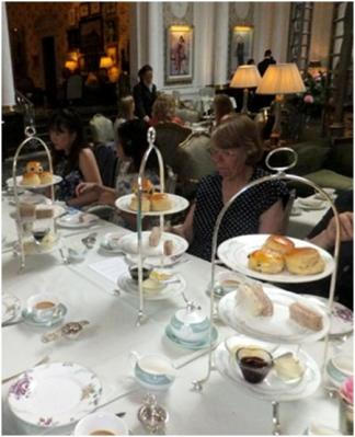 Tea at the Savoy for the Friends of Westminster Archives