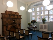 The Marylebone Room - One of the two beautiful marriage & civil partnership rooms at Mayfair Library