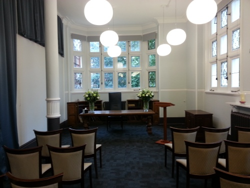 The Mayfair Room - One of the two beautiful marriage & civil partnership rooms at Mayfair Library