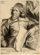 Inigo Jones (1573 – 1652), an engraving after Sir Anthony Van Dyck. Image property of Westminster City Archives