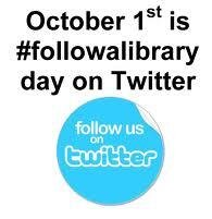 Follow @WCCLibraries on Twitter!