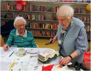 Home Library Service 65th anniversary celebrations at Pimlico Library