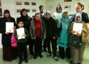 Some of the Project 353 participants, Church Street Library November 2013