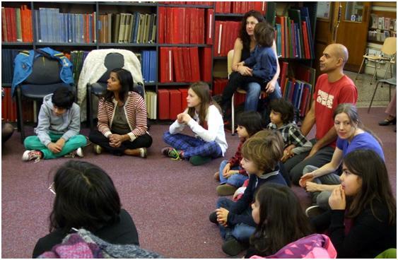 Behind The Lines Primary Age Workshop 07.12.13