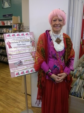 Maryanne Kerr at St John's Wood Library