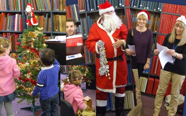 Westminster Music Library's christmas party for children, 2013