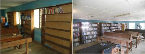 The Orolu Library - Before and After