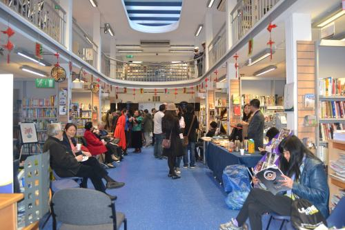 Chinese New Year celebration and launch of Chinese Corner, at Charing Cross Library, February 2014