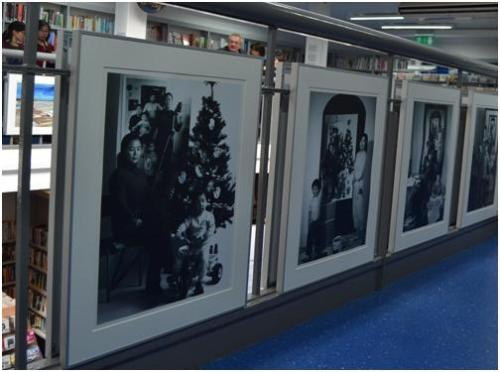 'A Narrative of Light and Shadow' exhibition at Charing Cross Library, April-May 2014