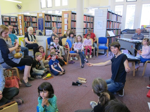 BTL Primary Years workshop on Vaughan Williams, Westminster Music Library March 2014