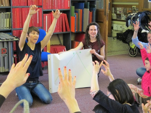 BTL Early Years workshop on Vaughan Williams, Westminster Music Library March 2014