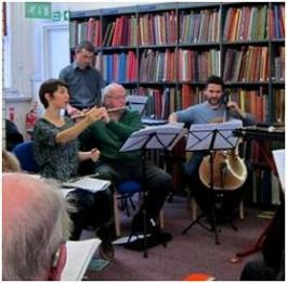 BTL adult workshop on Vaughan Williams, Westminster Music Library March 2014