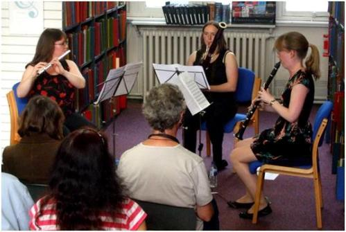 Licence to Trill at Westminster Music Library, May 2014