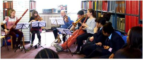 BTL Ravel workshop with Pimlico Academy students, April 2014