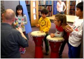 BTL Primary workshop on Ivor Gurney, Westminster Music Library May 2014