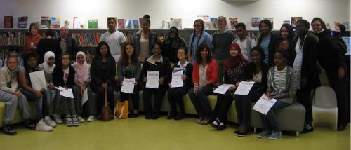 Summer Reading Challenge volunteers 2012