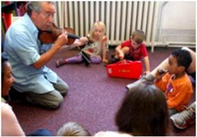 BTL Early Years workshop on Butterworth and Bliss, Westminster Music Library June 2014