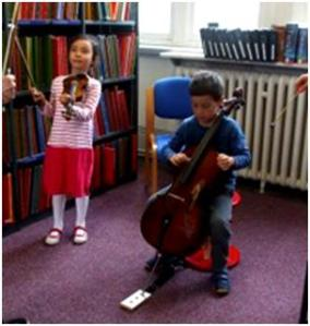 BTL Primary workshop on Butterworth and Bliss, Westminster Music Library June 2014