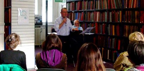 Tim Benton at Westminster Music Library, June 2014