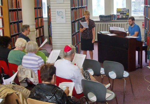 WW1 singalong at Westminster Music Library