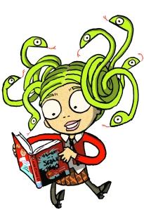 Medusa - copyright Sarah McIntyre for The Reading Agency