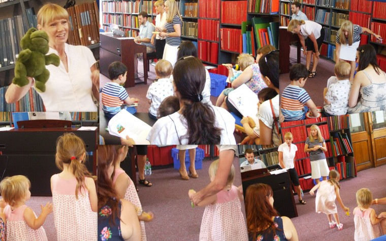Summer Reading Challenge event at Westminster Music Library, July 2014