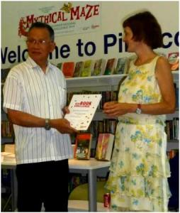 Six Book Challenge, Westminster 2014. Tham Kong Cheong read 24 books