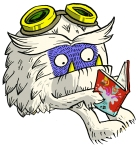 Yeti - copyright Sarah McIntyre for The Reading Agency