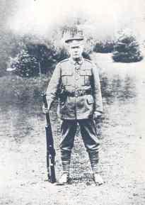 Conan Doyle in his local defence volunteers