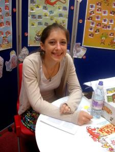Eve - Summer Reading Challenge volunteer at Victoria Library 2014