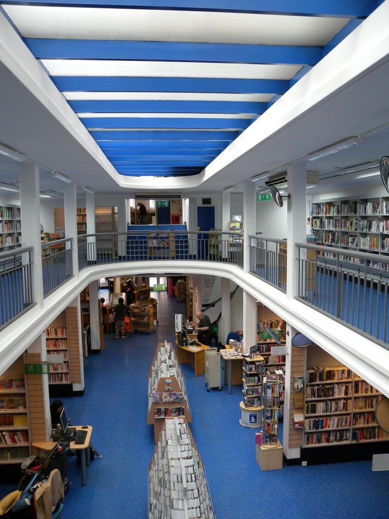 Charing Cross Library interior, 2014