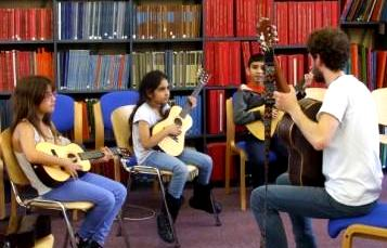 The Strings Club at Westminster Music Library, August 2014