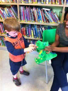 Making tooth brushing fun, with Dinosaur Douglas