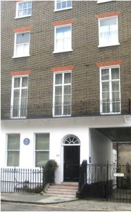 Blue plaque for Sir Fabien Ware, Wyndham Place W1