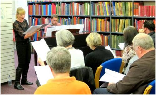 A Celebration of Cole Porter at Westminster Music Library, October 2014