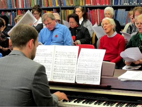 Last Post Event at Westminster Music Library - November 2014