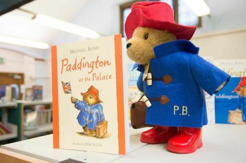 Paddington Bear visits Paddington Library, November 2014. Photos courtesy of Gavin Conlon Photography Ltd.