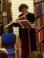 Aisha Meade at Westminster Music Library, December 2014