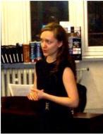 Aurelia Apanavičiūtė at Westminster Music Library, December 2014