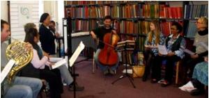 Open Age workshop on Vaughan Williams, November 2014