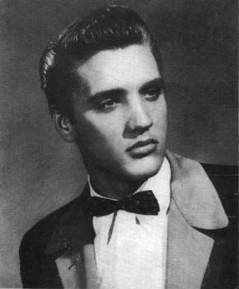 Presley in a Sun Records promotional photograph, 1954
