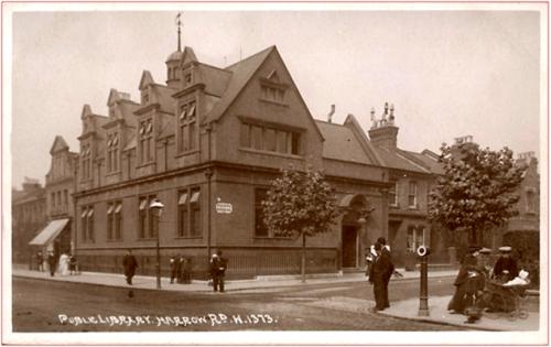 Queen's Park Library in 1910